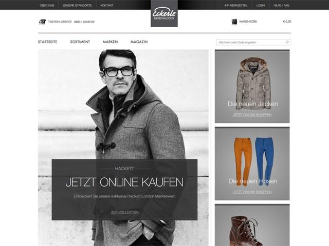 Herrenmode von Eckerle | Eckerle Onlineshop