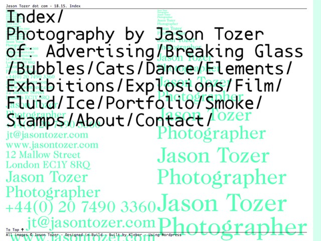Jason Tozer - Photographer