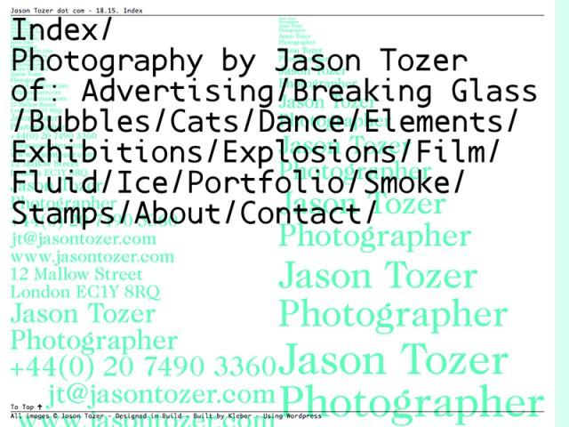 Jason Tozer - Photographer