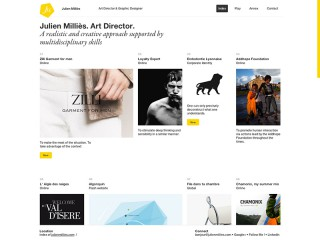 Julien Milliès - Art Director & Graphic Designer - Lyon France