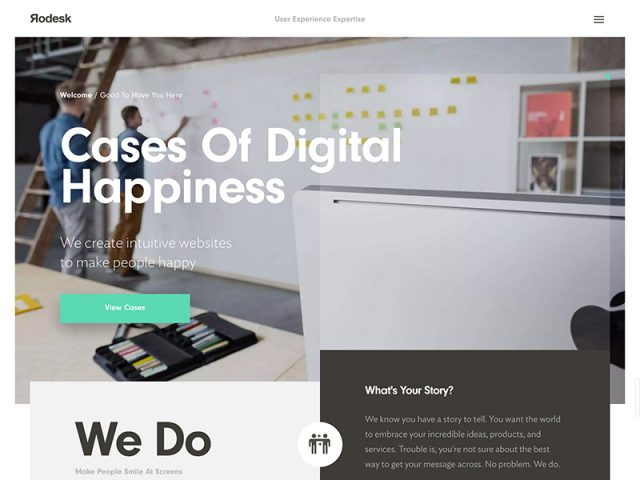 User Experience Design Agency | Rodesk