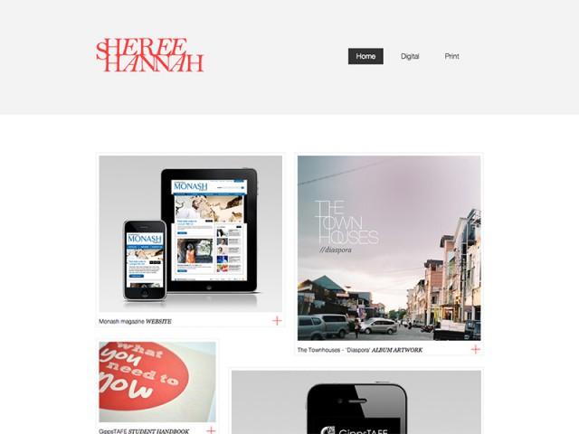 Sheree Hannah - Web designer Melbourne