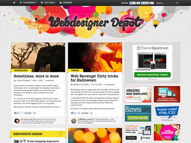 Web Design Blog - Webdesigner Depot